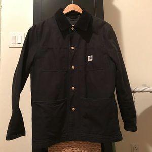 Carhartt WIP x Adam Kimmel Black Ginsberg Coat